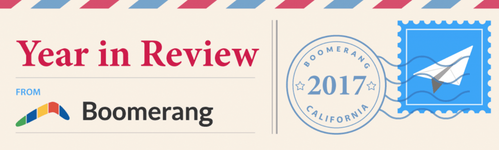 Boomerang Year in Review